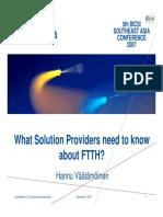 Draka FTTH Case Study