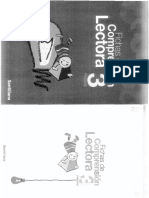Fichas Comprension Lectora 3 Primaria Editorial Santillana.