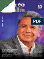 """Revista """"Correo del Alba"""" No. 61 - Marzo-Abril, 2017"""