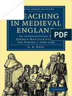G. R. Owst Preaching in Medieval England An Introduction to Sermon Manuscripts of the Period c.1350-1450 Cambridge Library Collection - History  .pdf