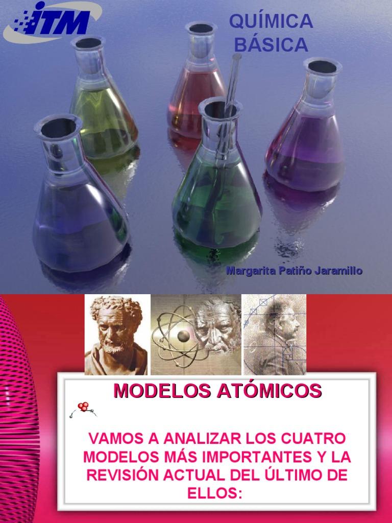 Modelos atomicos resumen for Resumen del libro quimica en la cocina