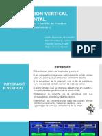 Integración Vertical y Horizontal Operaciones