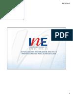 Presentacion Proyecciones de Poblacion 2002-2020