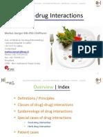 2015 ESO ESMO EEBR Drug Drug Interactions JOERGER