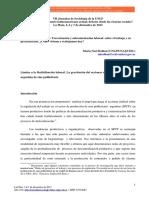 Bulloni Yaquinta - Limites a La Flexibilización Laboral La Gravitación Del Accionar Sindical en La Producción de Cine Publicitario