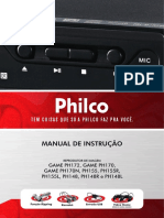 Manual DVD Philco