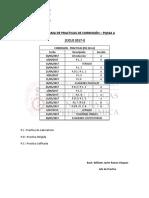 Cronograma de Practicas de Corrosion