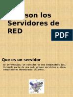 Que Es Un Servidor de RED