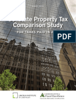 Lincoln Institute of Land Policy's comparison of 2016 property taxes