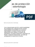 Barreras de Protección en Odontología