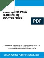 G UÍA TÉCNICA PARA EL DISEÑO DE CUARTOS FRÍOS.pdf