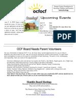 OCF Flyer April 2010