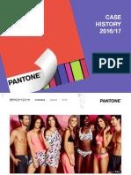 Pantone Licensed Products Case History Nov 2016