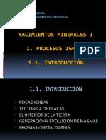 Procesos Ígneos Introducción