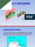 Cortes - Secciones