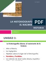 Heródoto y Tucídidies