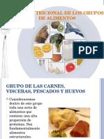Valor Nutricional de Los Grupos de Alimentos