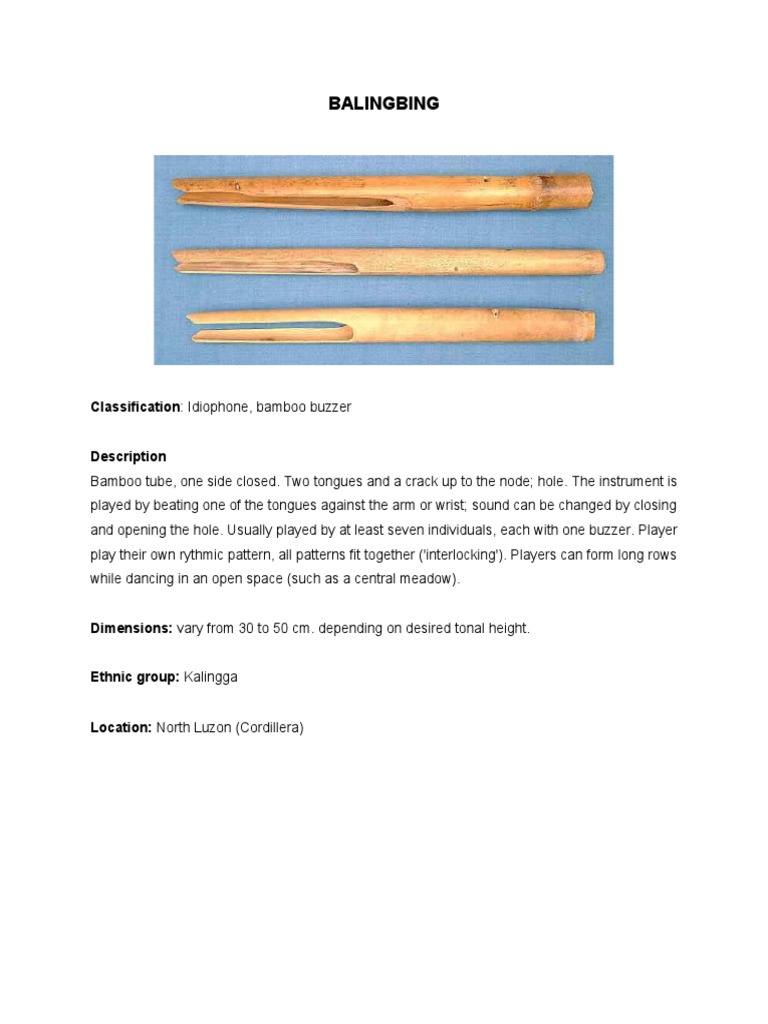 philippine musical instruments (luzon) | music production | music