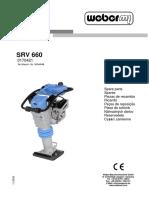Catalogo de Partes SRV 660