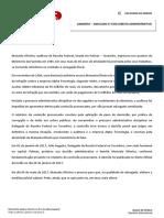 Espelho - Simulado - Direito Administrativo - XXII Exame - 2ª fase