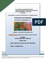 Act-Integradora Unidad 1analisis Cuantitativos