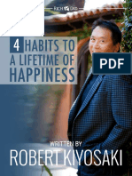 4 Habits to a Lifetime of Happiness