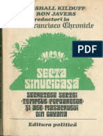 Secta sinucigasa