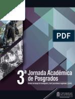 Memorias del Evento 3° Jornadas Académicas de Posgrados 2017-1