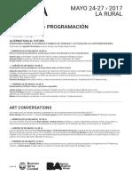 OpenForum ArteBA2017 Programa