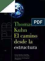 El-camino-desde-la-estructura-Thomas-Kuhn.pdf