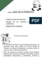 Las Leyes de La Dialéctica