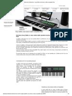 La Boite Noire Du Musicien - Korg Taktile, Seul Clavier-maître Compatible iPad