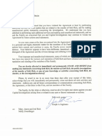 Rich family cease and desist letter to Rod Wheeler