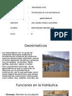 Geosinteticos Job