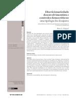 Mario Schapiro - Discricionariedade desenvolvimentista e controles democráticos.pdf