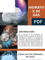 Hidratos de Gas