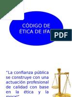 5. Codigo de Etica de IFAC A