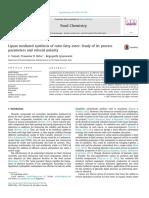 Estudio de Los Parametros de Solubilidad en La Esterificacion Con Lipasas