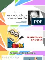 MET. INV. - Lección 01- Presentación Del Curso