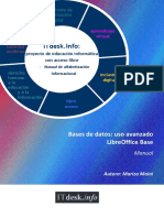 Bases de Datos-uso Avanzado-LibreOffice Base-Manual