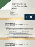 7. Dimensionamento de Elementos Estruturais - Flexão Composta
