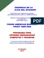 Programa Para Jóvenes Empresarios