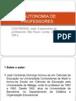 Autonomia Dos Professores - Contreras.