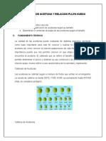 Calibrado de Aceituna y Relacion Pulpa Hueso