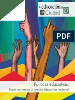 IDEP - Educación y Ciudad No 27 - Formación Docente Artículos