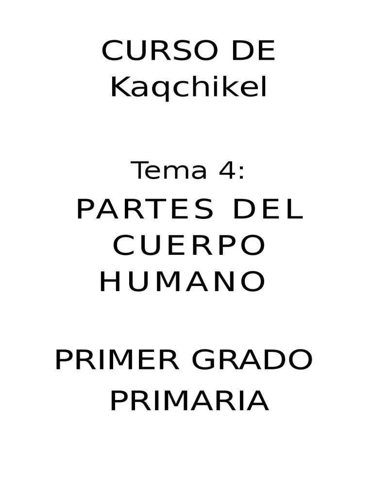 Results for Imagenes Del Cuerpo Humano Y Sus Partes En Kaqchikel