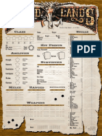 Deadlands D20 Character Sheet v1.3 (Color)