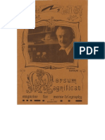 Morsum Magnificat, The Original Morse Magazine-MM05