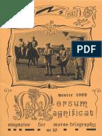 Morsum Magnificat, The Original Morse Magazine-MM10