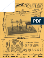 Morsum Magnificat, The Original Morse Magazine-MM16